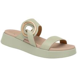 Tamanco para Fascite e Esporão - Menta - PI468006ME - Pé Relax Sapatos Confortáveis