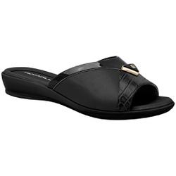 Tamanco Feminino Joanete, Fascite E Esporão - Preto - PI500252PT - Pé Relax Sapatos Confortáveis