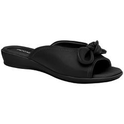 Tamanco Fascite e Esporão - Preto - PI500254PT - Pé Relax Sapatos Confortáveis