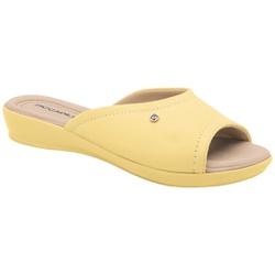 Tamanco Fascite e Esporão - Amarelo - PI500288AM - Pé Relax Sapatos Confortáveis