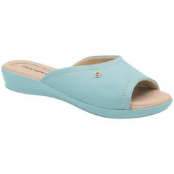 Tamanco Fascite e Esporão - Azul - PI500288AZ - Pé Relax Sapatos Confortáveis