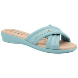 Tamanco Fascite e Esporão - Azul - PI500290AZ - Pé Relax Sapatos Confortáveis