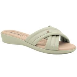 Tamanco Fascite e Esporão - Menta - PI500290ME - Pé Relax Sapatos Confortáveis
