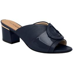 Tamanco Mule Confortável - Nav Azul - PI542095-5NAV - Pé Relax Sapatos Confortáveis
