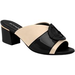 Tamanco Mule Confortável - Van / Verniz Preto - PI542095VVP - Pé Relax Sapatos Confortáveis