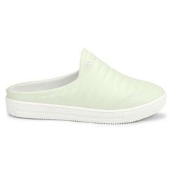 Mule Feminino Confortável - Hortelã - C1627AHO - Pé Relax Sapatos Confortáveis