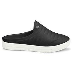 Mule Feminino Confortável - Preto - KOC1627APT - Pé Relax Sapatos Confortáveis
