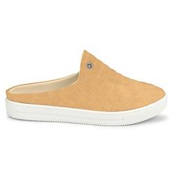 Mule Feminino Confortável - Peach - KOC1627APE - Pé Relax Sapatos Confortáveis