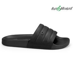 Tamanco Slide para Esporão e Fascite - Preto - KOC2461-0001PT - Pé Relax Sapatos Confortáveis
