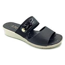 Tamanco Especial para Fascite e Esporão - Preto - PR10118PR - Pé Relax Sapatos Confortáveis