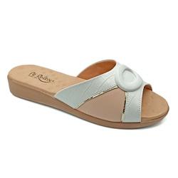 Tamanco Confortável para Esporão e Fascite - Branco - PR14071BR - Pé Relax Sapatos Confortáveis