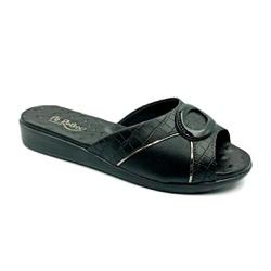 Tamanco Confortável para Esporão e Fascite - Preto - PR14071PR - Pé Relax Sapatos Confortáveis
