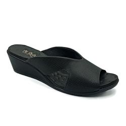 Tamanco Confortável - Preto - PR206068FPR - Pé Relax Sapatos Confortáveis