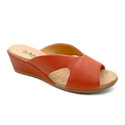 Tamanco Confortável - Ruggine - PR206068FRU - Pé Relax Sapatos Confortáveis