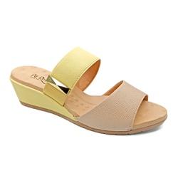 Tamanco Confortável com Elástico - Bistro - PR206085FBI - Pé Relax Sapatos Confortáveis