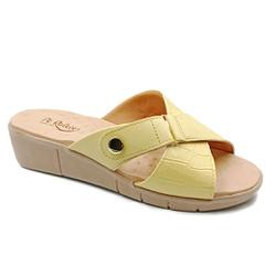 Tamanco Especial para Esporão e Fascite - Camomila - PR585055CA - Pé Relax Sapatos Confortáveis