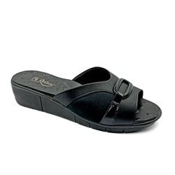 Tamanco Confortável para Fascite Plantar - Preto - PR585057PR - Pé Relax Sapatos Confortáveis