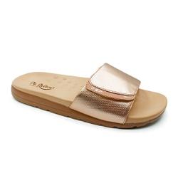 Tamanco Especial para Fascite e Esporão - Rose - PR622036RO - Pé Relax Sapatos Confortáveis