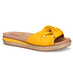 Tamanquinho Confortável - Amarelo - CAL6961AM - Pé Relax Sapatos Confortáveis