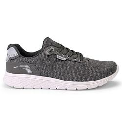 Tênis Confort para Caminhada - Cinza - KOK4061CZA - Pé Relax Sapatos Confortáveis