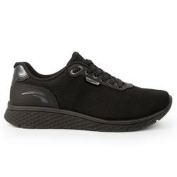 Tênis Confort para Caminhada - Preto - KOK4061-0010PT - Pé Relax Sapatos Confortáveis