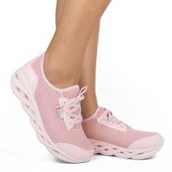 Tênis para Caminhada com Palmilha Massageadora - Candy - KOK5003CA - Pé Relax Sapatos Confortáveis