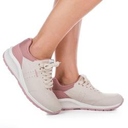 Tênis para Caminhada com Palmilha Massageadora - Macchiato - KOK5082-0002MA - Pé Relax Sapatos Confortáveis