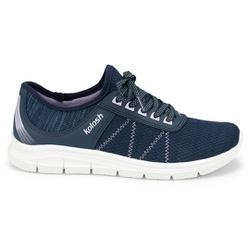 Tênis para Caminhar Feminino - Azul - KOK7001-0004AZ - Pé Relax Sapatos Confortáveis