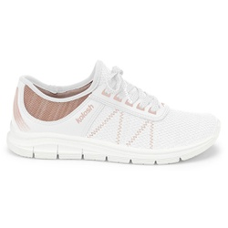 Tênis para Caminhar Feminino - Branco - KOK7001-0002BR - Pé Relax Sapatos Confortáveis