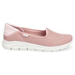 Tênis Casual Feminino - Rosa - KOK7003-0002RO - Pé Relax Sapatos Confortáveis