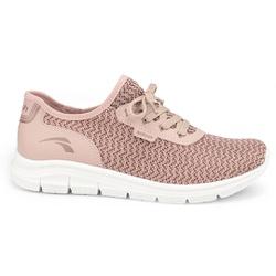 Tênis para Caminhar Feminino - Nescau - KOK7005-0002NE - Pé Relax Sapatos Confortáveis