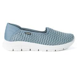 Tênis Feminino Casual - Iron - KOK7006-0003AZ - Pé Relax Sapatos Confortáveis
