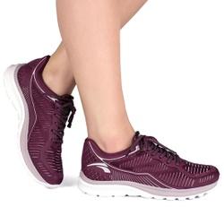 Tênis Caminhada Feminino - Syrah - KOK8365-0004SR - Pé Relax Sapatos Confortáveis