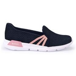 Tênis Feminino para Esporão e Fascite Plantar - Azul - KOK8482-0008AZ - Pé Relax Sapatos Confortáveis