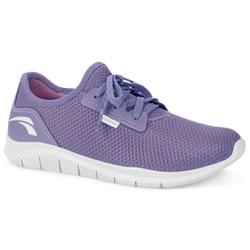 Tênis Caminhada Feminino - Lilás - KOK8681LI - Pé Relax Sapatos Confortáveis