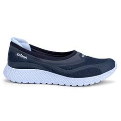 Tênis Sapatilha com Palmilha Massageadora - Marinho - KOK8712MA - Pé Relax Sapatos Confortáveis