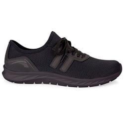 Tênis para Caminhada e Joanete - Preto / Sola Preta - KOK8861PSP - Pé Relax Sapatos Confortáveis