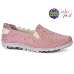 Tênis Confortável com Palmilha Gel - Hades Wood - KOC0528HW - Pé Relax Sapatos Confortáveis