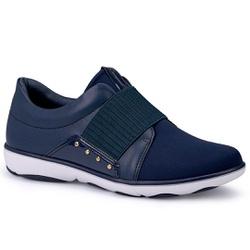 Tênis Casual para Esporão e Joanete - Navy - CAL6569-0001NA - Pé Relax Sapatos Confortáveis