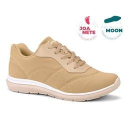 Tênis Feminino para Joanete e Esporão - Caramelo - CAL7323CA - Pé Relax Sapatos Confortáveis