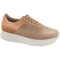 Tênis para Esporão de Calcâneo E Fascite - Pale Skin Bege - MA673003BI - Pé Relax Sapatos Confortáveis