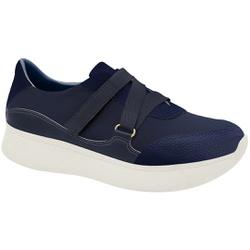 Sneaker para Esporão e Fascite - Azul com Velcro - MA673010AZ - Pé Relax Sapatos Confortáveis