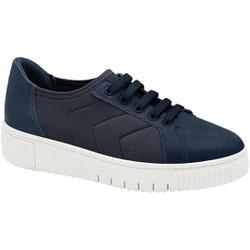 Tênis Comfort Fascite e Esporão - Azul - MA858004AZ - Pé Relax Sapatos Confortáveis