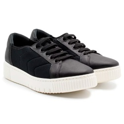 Tênis Comfort Fascite e Esporão - Preto - MA858004PTPT - Pé Relax Sapatos Confortáveis
