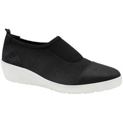 Tênis Fascite Plantar e Joanete - Preto - MA859004PT - Pé Relax Sapatos Confortáveis