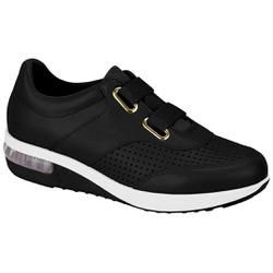 Tênis c/ Amortecedor e Elástico para Esporão e Fascite - Preto - MO7320231PT - Pé Relax Sapatos Confortáveis