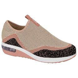 Tênis c/ Amortecedor para Esporão e Fascite - Multi Blush - MO7320-233MB - Pé Relax Sapatos Confortáveis