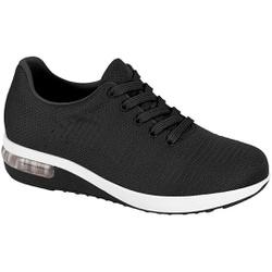 Tênis c/ Amortecedor para Caminhada, Esporão e Fascite - Preto - MO7320-241PT - Pé Relax Sapatos Confortáveis