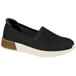 Tênis Feminino para Esporão e Fascite Plantar - Super Leve Preto - MO7345-112PT - Pé Relax Sapatos Confortáveis