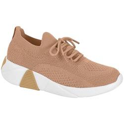 Tênis Meia para Esporão e Fascite - Bege - MO7354-100BE - Pé Relax Sapatos Confortáveis